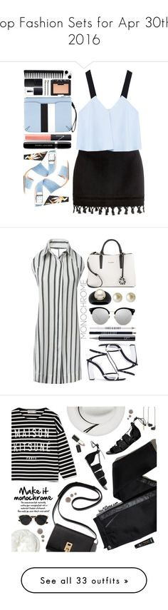 """""""Top Fashion Sets for Apr 30th, 2016"""" by polyvore ❤ liked on Polyvore featuring Zara, Fendi, Marc Jacobs, rag & bone, NARS Cosmetics, Vieste Rosa, GHD, Bling Jewelry, Oscar de la Renta and Calvin Klein"""