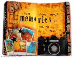 Art journal : Memories
