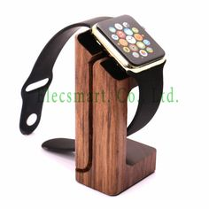 Find More Jewelry Packaging & Display Information about Art Piece Desk Top Wood Made Watch Charger Dock Station Holder Stand for Apple Watch 42mm 38mm,High Quality charger boat,China stand abs Suppliers, Cheap stand jewelry from Elecsmart Co., Ltd. on Aliexpress.com