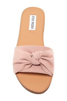 e9e2dc6a16fe Steve Madden - Diora Bow Slid Sandal is now 29% off. Free Shipping on. Nordstrom  Rack