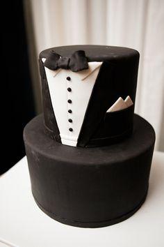 tuxedo groom's cake | 509 Photo #wedding