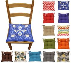 Pin By Linen Lace Patchwork On Seat Pads For Kitchen Dining Or Garden Chairs