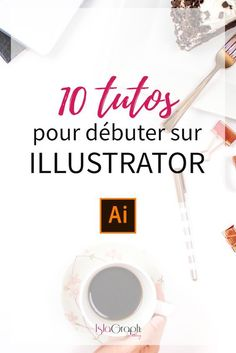 I offer you a selection of 10 Illustrator video tutorials free and 3 paid). Illustrator Video, Photoshop Illustrator, Illustrator Tutorials, Web Design, Design Art, Logo Design, Graphic Design, Photoshop Design, Conception Photoshop