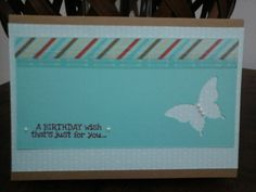 Stampin' Up Products! Birthday Wishes, Stampin Up, Card Making, Just For You, Frame, Cards, Home Decor, Products, Wishes For Birthday