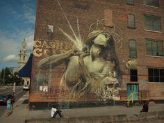 "Faith47 ""Rhapsody"" New Mural In Rochester, USA"