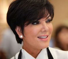 kris jenner hairstyle photos | Kris Jenner, star of Keeping up with the Kardashians alongside her ...