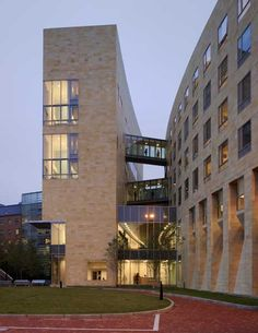 Northeastern University  Residence Hall, Classroom Building and Cultural Center in Boston, Massachusetts