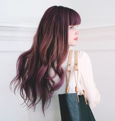 amazing hair color <3