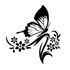 Butterfly Die Cut Vinyl Decal PV579