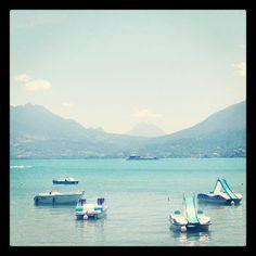 Lac d'Annecy.
