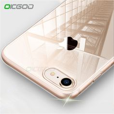 88f7354b5ae Oicgoo Ultra Thin Soft Transparent Tpu Case For Iphone 8 8 7 Plus 7 Clear  Silicone Full Cover For Iphone X Case 6 Plus Cases
