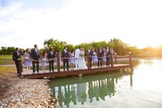 The Milestone in Krum, TX has a beautiful dock to take picture on! #dentontx #dfwweddings #dfwbrides