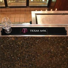 Texas A&M Aggies NCAA Drink Mat (3.25in x 24in)