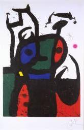 Joan Miró, The Matador (1969).