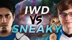 IWD vs Sneaky https://youtu.be/Yv_bKaxgiLs #games #LeagueOfLegends #esports #lol #riot #Worlds #gaming