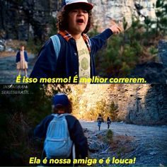 Trechos de séries // stranger things