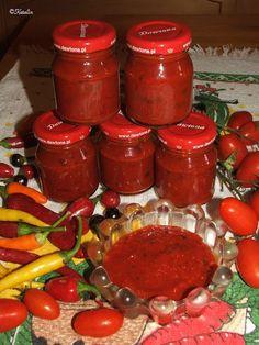 Katalin konyhája: Gulyáskrém Pickling Cucumbers, Eat Pray Love, Ketchup, Hot Sauce Bottles, Cake Cookies, Preserves, Pickles, Salsa, Food And Drink