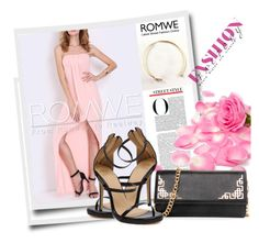 """ROMWE 5/1"" by melissa995 ❤ liked on Polyvore featuring WithChic"