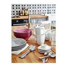 IKEA - VÄRDERA, Egg cup, Made of feldspar porcelain, which makes the cup impact resistant and durable.