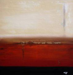 "Saatchi Art Artist Hego Goevert; Painting, ""Sand City"" #art"