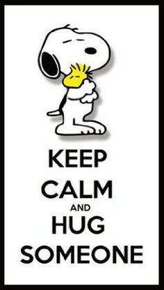 Snoopy findet immer die richtigen Worte