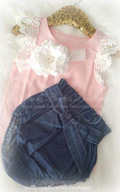 Vintage Pink Lace Flutter Sleeve Top