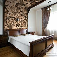 BEDROOM: Classic wallpaper by Big-trix.pl   #wallpaper #classic #retro #bedroom