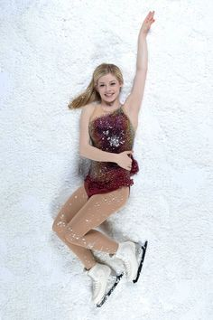 Gracie Gold, figure skater