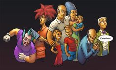 Simpsons re-imagined