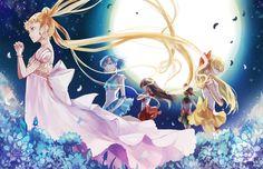 Sailor Moon: Under the Moon-lit Sky by Animus-Rhythm.deviantart.com on @deviantART