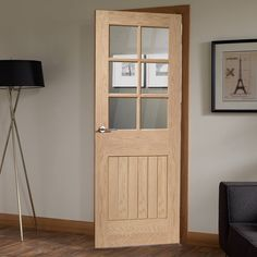Suffolk Oak 6 Light Fire Door with Clear Glass is 1/2 Hour Fire Rated & LPD Kent Oak Internal Fire Door u2013 Next Day Delivery LPD Kent Oak ... pezcame.com