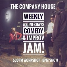 From @halifaxfringe  Tonight! At  @thecompanyhouse . Have you ever wanted to try improv comedy? Do you like laughter and fun? Do you want to try something new and make some friends? Are you an actor that wants to flex your comedy muscles? . Welcome to the Weekly Wednesday Comedy Jam! . What: Improv Comedy Drop In Workshop followed by a show!!! 2 hour improv workshop designed to help you let loose shake off your daily stress and have fun! Come for the Drop-In stay for the show! . Who: Open to…