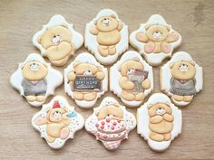 Teddy Bear Cookies More
