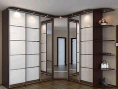   Шкафы-купе меняют дизайн квартиры Hall Wardrobe, Wardrobe Door Designs, Bedroom Furniture Design, Bedroom Decor, Vanity Design, Girls Bedroom, New Homes, Home Decor, Cupboard Ideas
