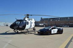 LAPD Air Support - Super Car Exotic Lamborghini