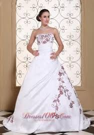 Image result for colored embroidered wedding.dress
