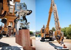Brick-laying robot can build a full-sized house in two days
