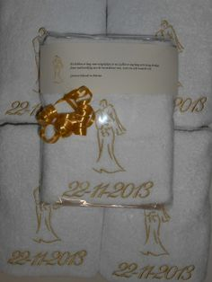 trouwbedankjes http://www.borduurkoning.nl/shop/bad_textiel/handdoek/handdoek_wit