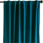 Sheridan Velvet Ink Curtain   Pier 1 Navy Curtains, Teal Ombre, Papasan Chair, Dining Room Sets, Inspired Homes, Velvet, Ink, Pure Products, Home Decor