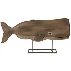 A fabulous focal point to any sea inspired decor! #whaleart #beachykids