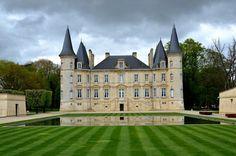 Castle Pichon-Longueville - Pauillac Bordeaux  the wine regions   FRANCE  Find Super Cheap International Flights to Bordeaux, France ✈✈✈ https://thedecisionmoment.com/cheap-flights-to-europe-france-bordeaux/