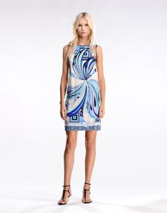 Emilio Pucci Short Dress Spring/Summer 2015
