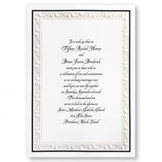 $200 for 150. Pearlized embossed border with thermo type