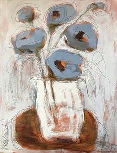 """""""blue flowers"""" - Vicki Wood"""