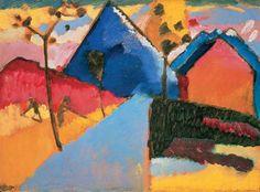 Kandinski, Kochel rechte weg, 1909