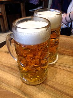 Enjoy a beer or two in Munich during #Springfest