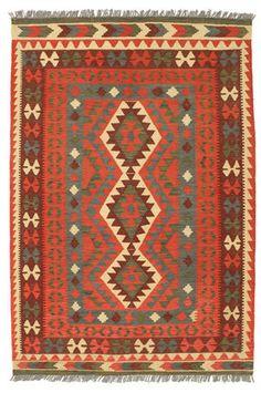 Alfombra Kilim Afghan Old style 127x188