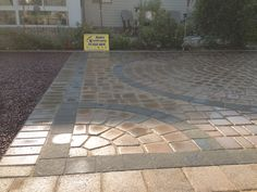 Close up design of patio installation with soldier course and floater course in Hanover, Pa. We pay attention to details. Patio Installation, Paver Designs, Outdoor Living, Outdoor Decor, Patio Design, Pay Attention, Living Spaces, Sidewalk, Design Ideas