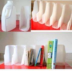 Recyclage de bidons de savon lessive