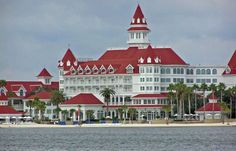 Disney's Grand Floridian..     Some of my favorite childhood memories come from visiting this resort growing up